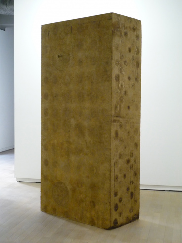 """Uoel"", 2006-2008. Expanded polystyrene, petroleum. 250 x 120 x 60 cm."